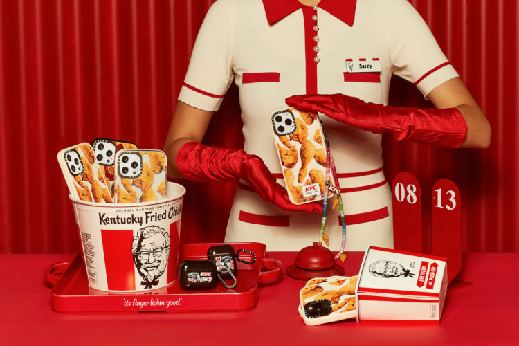 CASETiFY, KFC, coque iphone, samsung galaxy, passion poulet